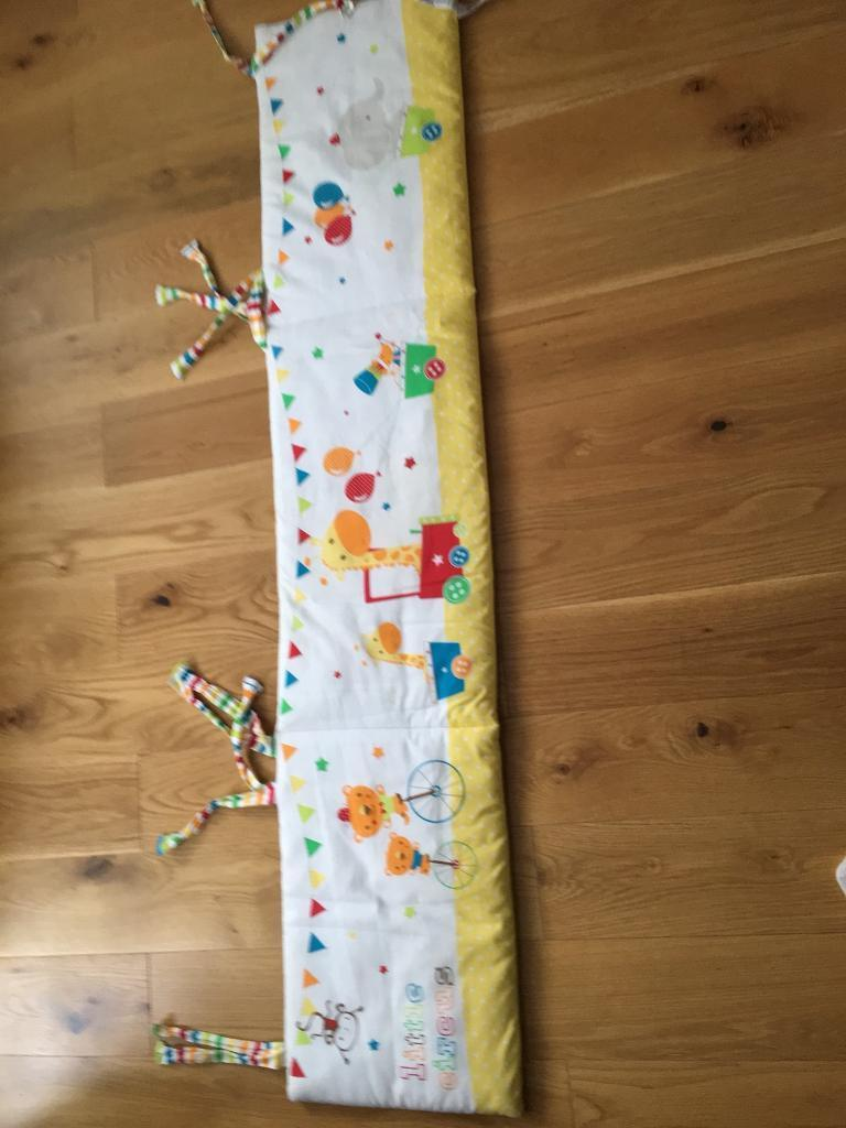 Cot bumper from mother care
