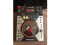 Pioneer cdj400 & djm400 mixer & pioneer flight case