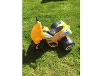Children's electric motorbike with charger