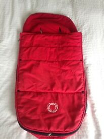 Bugaboo fleece - Red