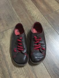Camper brown shoes size 38