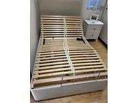 Fully adjustable electric bed