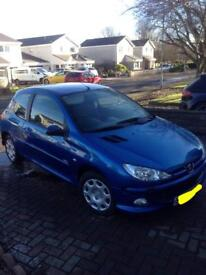 Peugeot 206 year mot with no advisories