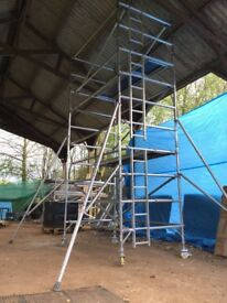 Boss Youngman Scaffold Tower Double 6.7m WH X 1.8m