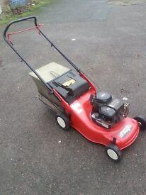 EFCO petrol lawnmower briggs and statton engine runs well