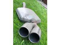 BMW Exhaust Back box and Rear Tips