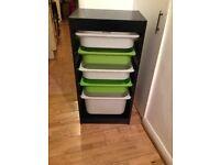 Black Storage Draws (second hand from Ikea)