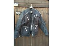 Buffalo motorcycle jacket and motorcycle trousers