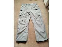 Vans snowboard trousers size large bnwt