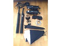 Bowens Gemini 500R Pulsar Tx Twin Head Studio Lighting Kit