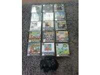 PS1 PLaystation games and Controller