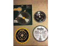 Various Circular Saw Blades (will sell separately)