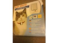 CAT MATE Electromagnetic glass fitting CAT FLAP - NEW. Bargain price £18.