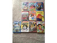 Different children DVDs