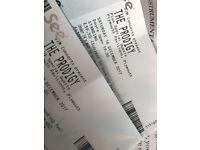 PRODIGY tickets x 2 plymouth pavillions