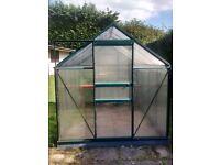 6x6 Polycarbonate Greenhouse