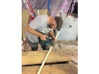 Handyman, door hanging, furniture refinishing, painting, general repairs, insured