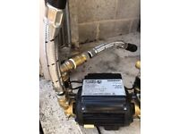 Shower pump excellent condition not needed now as fit a combi boiler .