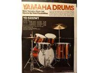 Yamaha Professional Drum Kit