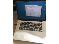 Macbook Pro 15 inch Retina Laptop, 512Gb HD, 16Gb RAM