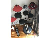 Gear4Music Electric Drum Kit