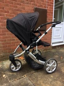 Britax pushchair 3 wheeled black
