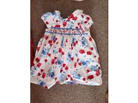 Girls dresses 6 months up to 18 months
