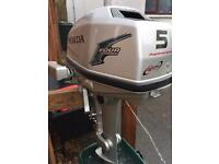 Honda 5hp outboard engine