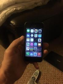 I phone 5 32gb. Near new screen and battery.