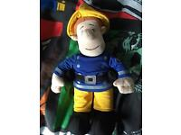 Talking Fireman Sam hardly played with!