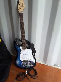 Jaxville 6 string electric guitar