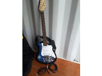 Jaxville 6 string electric guitar
