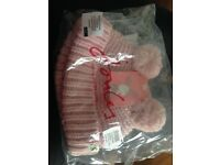 Joules baby hat new 0-3months