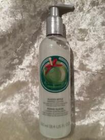 Brand new unused Bodyshop APPLE SHIMMER BODY LOTION 250ml