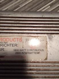 12v-110v 1800w continuous 2600w intermitent inverter