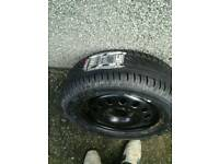 Ford Focus wheel and tyre 195/60 R15