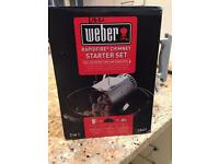 Brand new boxed Weber Chimney Starter
