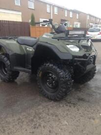 King quad 2013 mint condition 4x4 (farm quad)