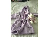 Girls House Coat - Dressing Gown age 2-3