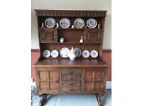 Old Charm Medium Oak Welsh Dresser