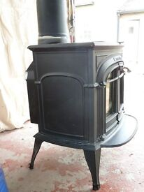 Cannon gas fire Traditional stove effect design.