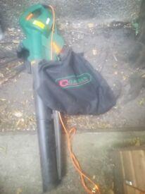 Leaf Blower, Shredder and Collector