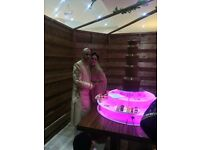 Chocolate fountain/Candy floss/Popcorn/Mehndi stage/Catering/Palm trees/cars