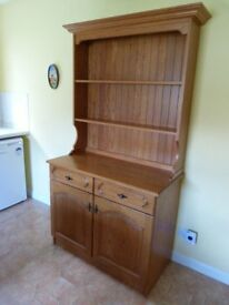 KITCHEN DRESSER UNIT - SOLID PINE