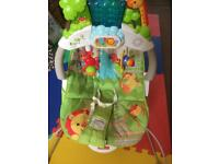 Fisher-Price Deluxe Bouncer, Rainforest Friends