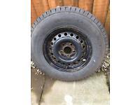 Caravan spare wheel for sale