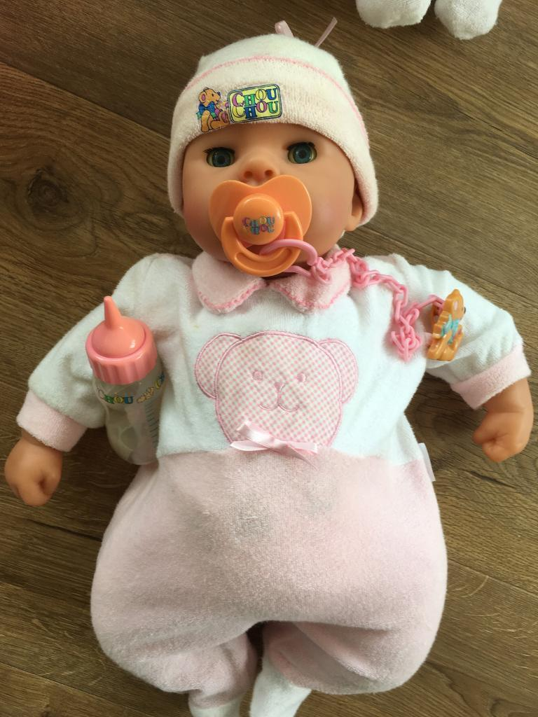 Baby dolls with accessories