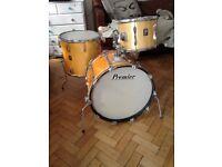 old premier drum kit