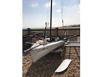 RS 700 Sailing Boat