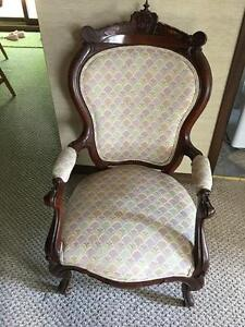 Victorian Era Arm Chair - Queen Anne